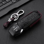 Leather key case for Ford, key type F7