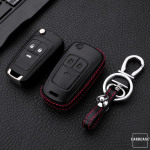 Leather case for Opel keys, key type OP6