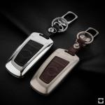 Schlüssel Cover aus Alu für BMW Schlüsseltyp B4/B5 brown