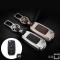 Schlüssel Cover aus Alu für Volkswagen Seat und Skoda black