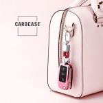 Glossy key case/cover for Volkswagen, Skoda, Seat remote keys rose SEK2-V2-10