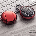 Glossy key case/cover for MINI remote keys red SEK2-MC3-3