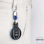 Glossy Silikon Schutzhülle / Cover passend für MINI Autoschlüssel MC3 rot