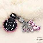 Glossy key case/cover for MINI remote keys gold SEK2-MC3-16