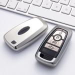 Glossy Silikon Schutzhülle / Cover passend für Ford Autoschlüssel F8, F9