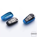 Glossy key case/cover for Ford remote keys gold SEK2-F9-16