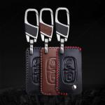 Schlüssel Cover Leder für Peugeot & Citroen