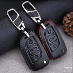 Schlüssel Cover Leder für Peugeot & Citroen für Schlüsseltyp P1 & C2