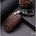 Schlüssel Cover Leder für Peugeot & Citroen für Schlüsseltyp P2 & C2