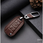 Leder Schlüssel Cover passend für Citroen, Peugeot Schlüssel C3, P3