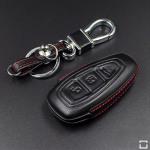 Schlüsseletui aus echtem Leder für Ford...