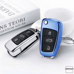 Glossy key case/cover for Audi remote keys  SEK2-AX3