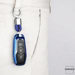 Glossy Silikon Schutzhülle / Cover passend für Ford Autoschlüssel F3