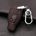 RUSTY Leder Schlüssel Cover passend für Mercedes-Benz Schlüssel  LEK13-M8