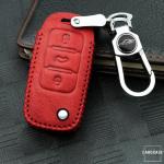 RUSTY Leder Schlüssel Cover passend für Volkswagen, Skoda, Seat Schlüssel  LEK13-V2X