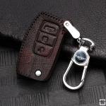 RUSTY Schlüsseletui aus echtem Premiumleder für Ford Schlüsseltyp F1