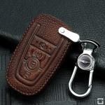 RUSTY Leder Schlüssel Cover passend für Ford Schlüssel  LEK13-F9