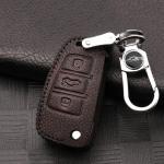 RUSTY Schlüsseletui aus echtem Premiumleder für...