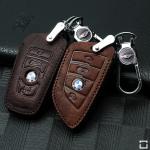 RUSTY Leder Schlüssel Cover passend für BMW Schlüssel  LEK13-B4, B5
