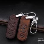 RUSTY Leder Schlüssel Cover passend für Mazda...