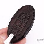RUSTY Leder Schlüssel Cover passend für Nissan Schlüssel  LEK13-N6