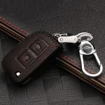 RUSTY Leder Schlüssel Cover passend für Nissan Schlüssel  LEK13-N1