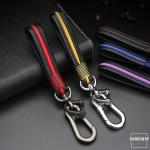 Schlüsselanhänger aus echtem Leder in trendigen...