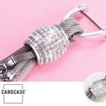 Dekorativer Delfin Schlüsselanhänger inkl. Karabiner in 5 verschiedenen rosa