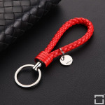 Bracelet porte clés en similicuir