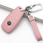 BLACK-ROSE Leder Schlüssel Cover für Mercedes-Benz Schlüssel  LEK4-M9