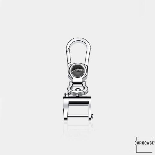 Chrome Schlüsselanhänger Karabiner - KRB2