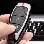 C-LINE Hartschalen Schlüssel Cover passend für Ford Schlüssel  HEK6-F5