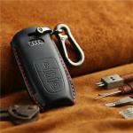 PREMIO Leder Schlüssel Cover passend für Audi...