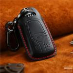 PREMIO Schlüsseletui aus echtem Leder für Audi...