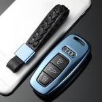 Aluminium Premium Schlüssel Cover passend für Audi Autoschlüssel  HEK11-AX7