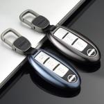 Aluminium Premium Schlüssel Cover passend für Nissan Autoschlüssel  HEK11-N5