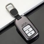 Aluminium Premium Schlüssel Cover passend für Honda Autoschlüssel grau HEK11-H11-17
