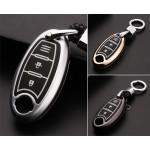 Schutzhülle Cover passend für Nissan Autoschlüssel  mit Leuchtfunktion ohne Batterien HEK18-N5