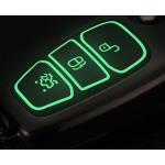 Schutzhülle Cover passend für Ford Autoschlüssel  mit Leuchtfunktion ohne Batterien HEK18-F4