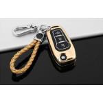 Schutzhülle Cover passend für Ford Autoschlüssel  mit Leuchtfunktion ohne Batterien HEK18-F2