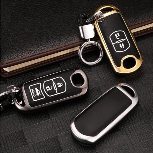 Schutzhülle Cover passend für Mazda Autoschlüssel  mit Leuchtfunktion ohne Batterien HEK18-MZ1