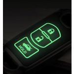 Schutzhülle Cover passend für Mazda Autoschlüssel  mit Leuchtfunktion ohne Batterien HEK18-MZ2