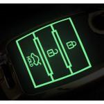 Schutzhülle Cover passend für Kia Autoschlüssel  mit Leuchtfunktion ohne Batterien HEK18-K7
