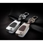 Alu Hartschalen Schlüssel Case passend für Hyundai Autoschlüssel  HEK2-D5