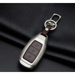 Alu Hartschalen Schlüssel Case passend für Hyundai Autoschlüssel  HEK2-D9