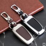 Alu Hartschalen Schlüssel Case passend für Ford Autoschlüssel  HEK2-F9