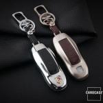 Alu Schlüsselcover für Porsche PE1 HEK2