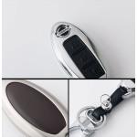 Alu Hartschalen Schlüssel Case passend für Nissan Autoschlüssel  HEK2-N7