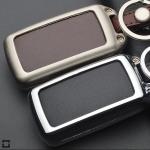 Alu Hartschalen Schlüssel Case passend für Citroen, Peugeot Autoschlüssel  HEK2-PX2