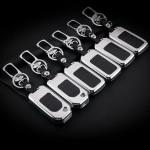 Alu Hartschalen Schlüssel Case passend für Honda Autoschlüssel  HEK2-H11